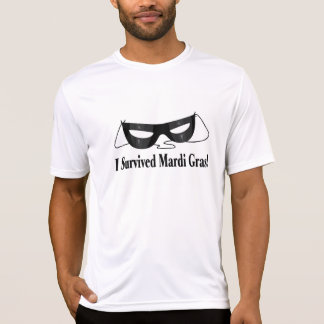 Sobreviví carnaval camisetas