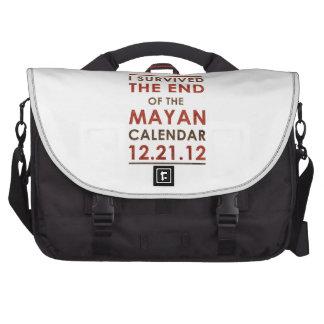 Sobreviví el extremo del calendario maya 12 21 12 bolsa de ordenador