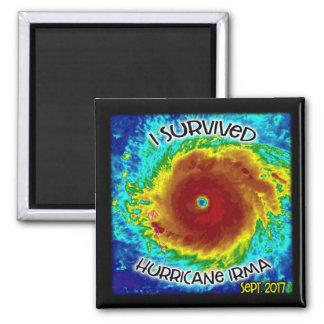 Sobreviví el imán de Irma del huracán