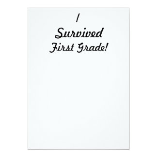 ¡Sobreviví el primer grado! Comunicado Personalizado