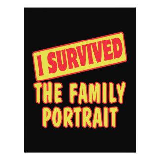 SOBREVIVÍ EL RETRATO DE LA FAMILIA FOLLETO 21,6 X 28 CM