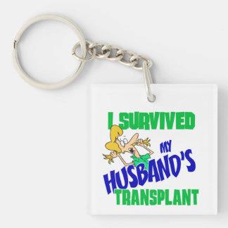 Sobreviví el trasplante de mi marido llavero