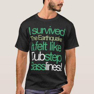 Sobreviví la camiseta de Basslines del terremoto
