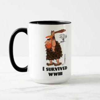 Sobreviví la taza de café de WWIII
