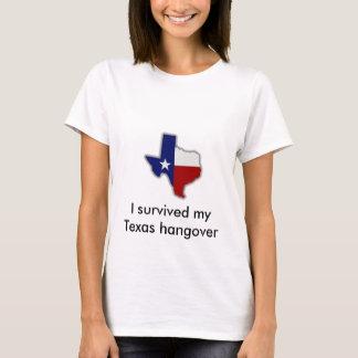 Sobreviví mi resaca de Tejas Camiseta