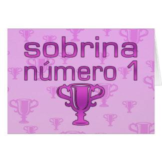 Sobrina Número 1 Felicitaciones