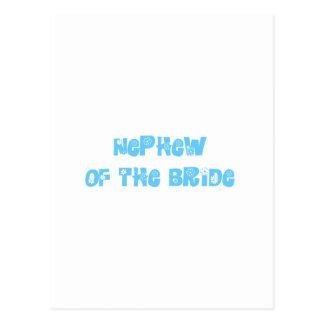 Sobrino de la novia postales