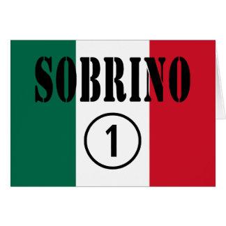 Sobrinos mexicanos Uno de Sobrino Numero Tarjetas