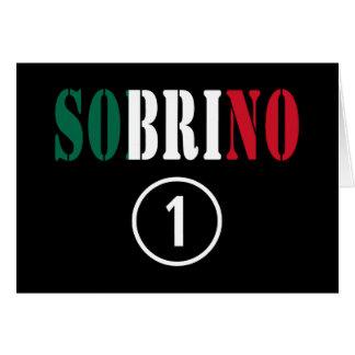 Sobrinos mexicanos: Uno de Sobrino Numero Tarjeta Pequeña
