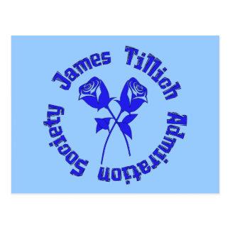 Sociedad de la admiración de James Tillich Postal