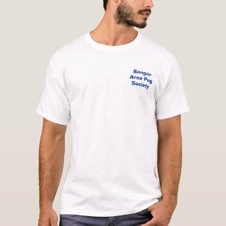 Sociedad del barro amasado del área de Bangor Camiseta