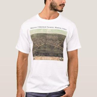 Sociedad histórica de Marion con el mapa Camiseta