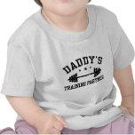 Socio del entrenamiento del papá camisetas