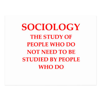 sociología postal