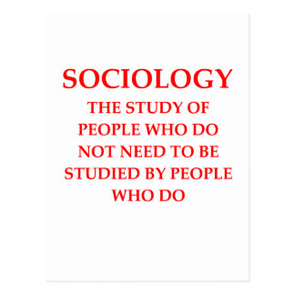 sociología postales