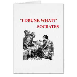 Sócrates Tarjeta