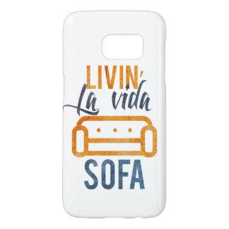 Sofá del vida del la de Livin Funda Samsung Galaxy S7