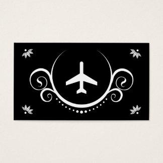 sofisticaciones planas tarjeta de visita