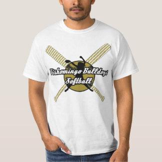 Softball de los dogos de Tishomingo Camiseta
