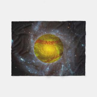 Softball en manta única del paño grueso y suave