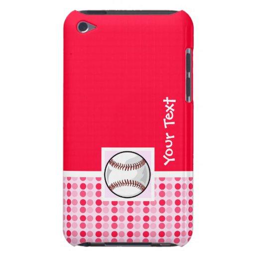 Softball lindo iPod touch Case-Mate carcasas