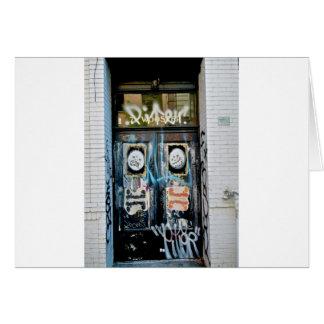 SOHO NYC de la pintada Tarjeta De Felicitación
