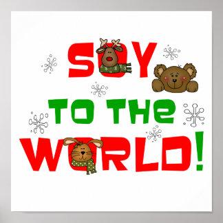 Soja al mundo poster