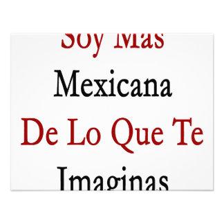 Soja Mas Mexicana De Lo Que Te Imaginas Invitación Personalizada