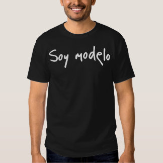 Soja Modelo Camisetas