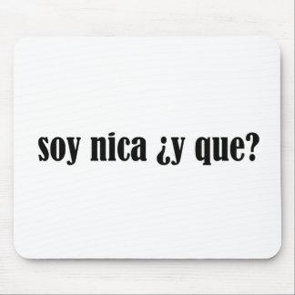 Soja Nica y Que Alfombrillas De Raton