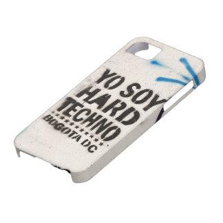 Soja Techno duro Bogotá de Yo iPhone 5 Case-Mate Cárcasas