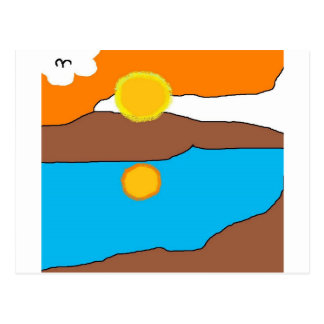 sol ártico postal