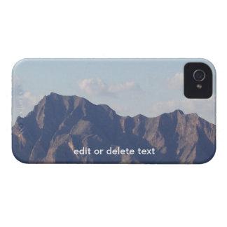 Sol de Finca del La con la montaña de Algorfa iPhone 4 Funda
