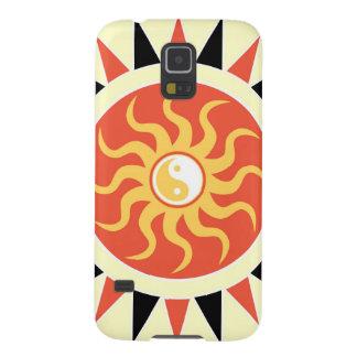 Sol de Yin yang Funda Galaxy S5