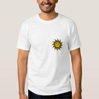 Sol del reggae camiseta
