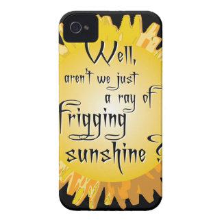Sol divertida Case-Mate iPhone 4 coberturas