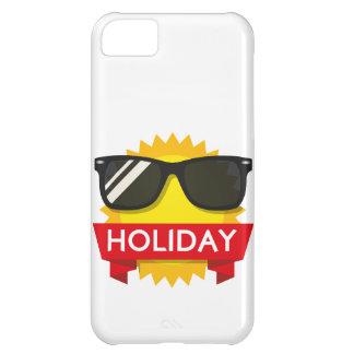 Sol fresco de los sunglass funda iPhone 5C