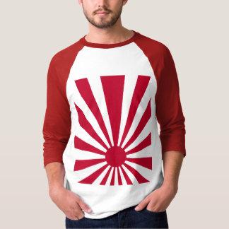 Sol naciente de Japón del vintage del tigre 80s de Camiseta