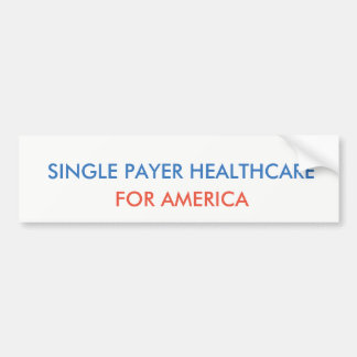 Sola atención sanitaria del pagador pegatina para coche