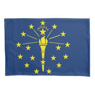 Sola bandera patriótica de la funda de almohada de