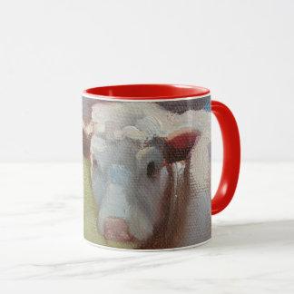 Sola taza de la vaca