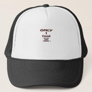 solamente 1 herramienta gorra de camionero