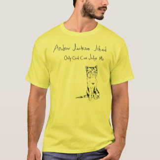 Solamente dios puede juzgarme camiseta