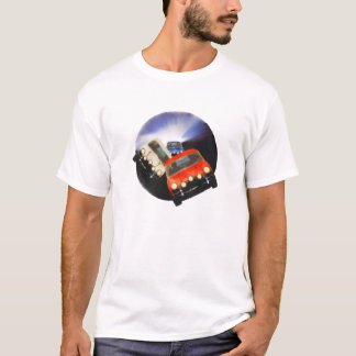 solamente en un mini camiseta