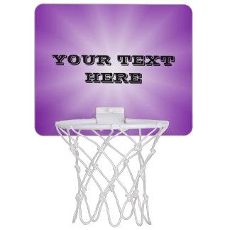 Solamente estrella de las pendientes del color - mini tablero de baloncesto