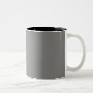 Solamente fondo gris simple de color sólido taza dos tonos