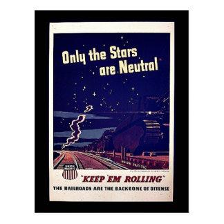 Solamente las estrellas son neutrales tarjetas postales