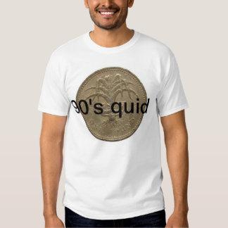 solamente las libras de los años 90 conseguirán camisetas