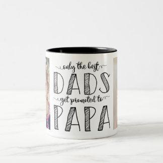 Solamente los mejores papás consiguen promovidos a taza de café de dos colores