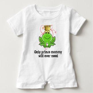 Solamente mameluco del bebé de príncipe Mommy Will